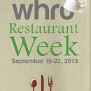 WHRO Restaurant Week